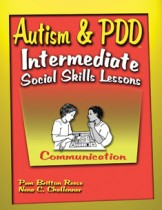AUTISM & PDD / INT SS LESSONS / COMMUNICATION (BOOK)