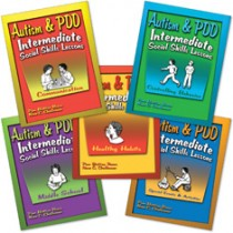 AUTISM & PDD / INT SS LESSONS (SET OF 5 BOOKS)