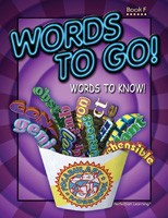 WORDS TO GO! WORDS TO KNOW! / BOOK F