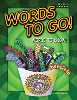 WORDS TO GO! WORDS TO KNOW! / BOOK G