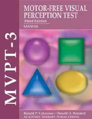 Motor free visual perception test mvpt 3 for Motor free visual perception test