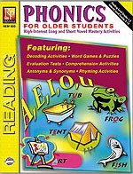 PHONICS FOR OLDER STUDENTS (BOOK)