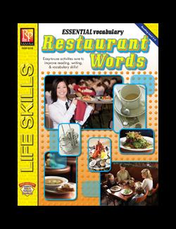 ESSENTIAL VOCABULARY / RESTAURANT WORDS