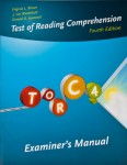 Test of Reading Comprehension (TORC-4)