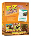 EZ Reading Story Cards (AWESOME ANIMALS)