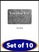 VOCABU-LIT / BOOK H | GRADE 8
