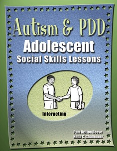 AUTISM & PDD / ADOL SS LESSONS / INTERACTING (BOOK)