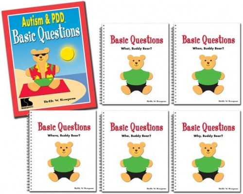 AUTISM & PDD / BASIC QUESTIONS (SET OF 5 BOOKS)