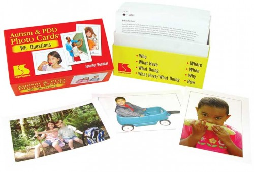 AUTISM & PDD / PHOTO CARDS / WH- QUESTIONS