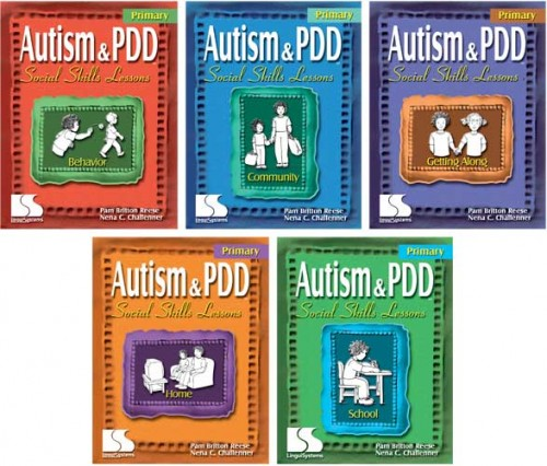 AUTISM & PDD / PRIM SS LESSONS (SET OF 5 BOOKS)