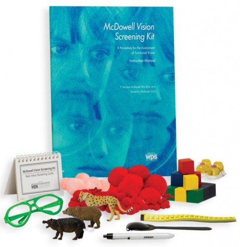 MCDOWELL VISION SCREENING KIT