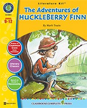 ADVENTURES OF HUCKLEBERRY FINN [LIT KIT]