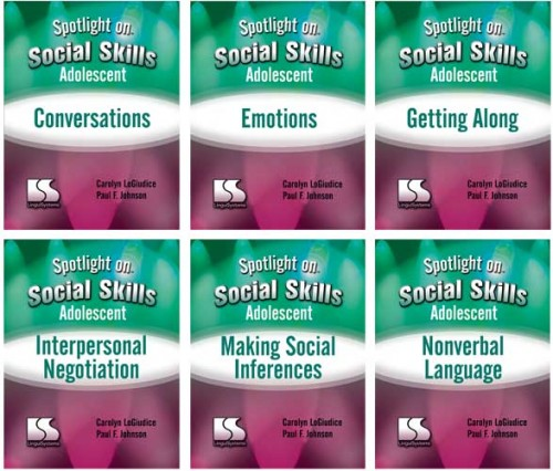 SPOTLIGHT ON / SOCIAL SKILLS