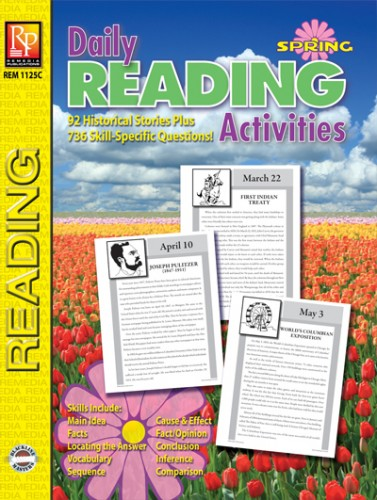 DAILY READING ACTIVITIES / SPRING
