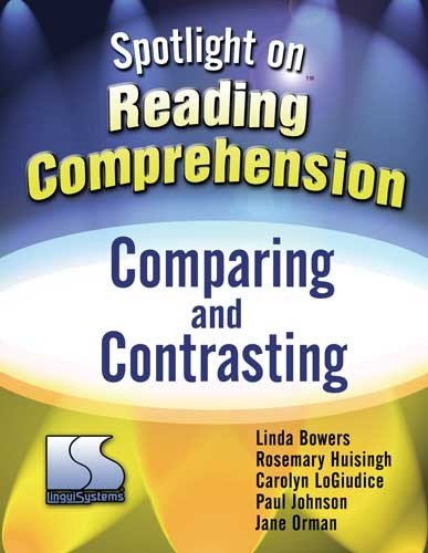 SPOTLIGHT ON / READING COMP / COMPARING & CONTRASTING (BOOK)