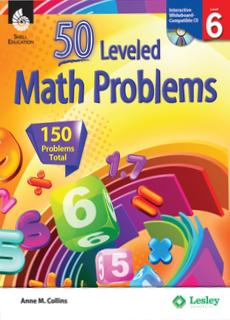 50 LEVELED MATH PROBLEMS / LEVEL 6