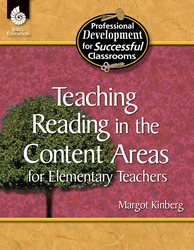 TEACHING READING IN CONTENT AREAS FOR ELEMENTARY TEACHERS