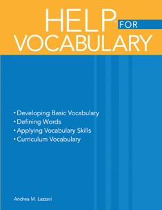 HELP / VOCABULARY (BOOK)