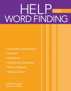 HELP / WORD FINDING (BOOK)