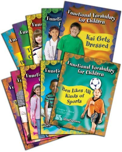 FUNCTIONAL VOCAB FOR CHILDREN (SET OF 10 BOOKS)