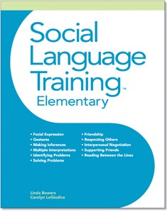 SOCIAL LANGUAGE TRAINING | ELEMENTARY (BOOK)
