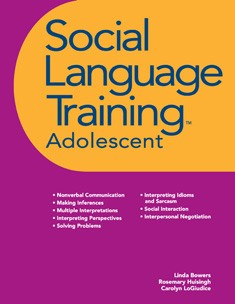 SOCIAL LANGUAGE TRAINING | ADOLESCENT (BOOK)