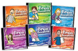 BRAIN BOOSTERS (SET OF 6 AUDIO CDS)