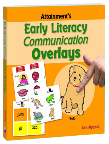 EARLY LITERACY COMMUNICATION OVERLAYS (BOOK)