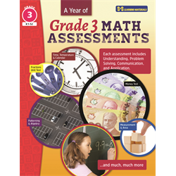 YEAR OF GRADE 3 MATH ASSESSMENTS
