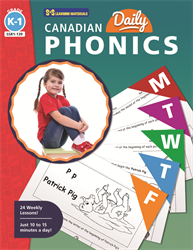 CANADIAN DAILY PHONICS / GR K - 1