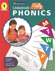 CANADIAN DAILY PHONICS / GR 1