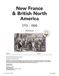 MASTER THE FACTS / NEW FRANCE & BRITISH / WORKBOOK