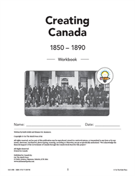MASTER THE FACTS / CREATING CANADA / WORKBOOK