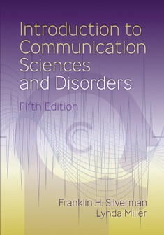 INTRODUCTION TO COMMUNICATION SCIENCES & DISORDERS