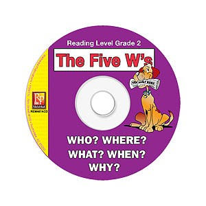 FIVE W'S / READING LEVEL 2 (RESOURCE CD)
