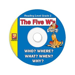 FIVE W'S / READING LEVEL 3 (RESOURCE CD)