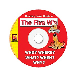 FIVE W'S / READING LEVEL 4 (RESOURCE CD)