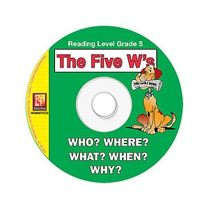 FIVE W'S / READING LEVEL 5 (RESOURCE CD)