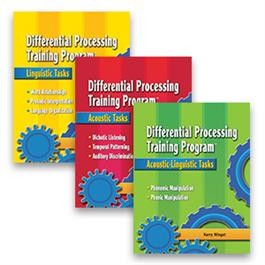 DIFFERENTIAL PROCESSING TRAINING PROGRAM (SET OF 3 BOOKS)