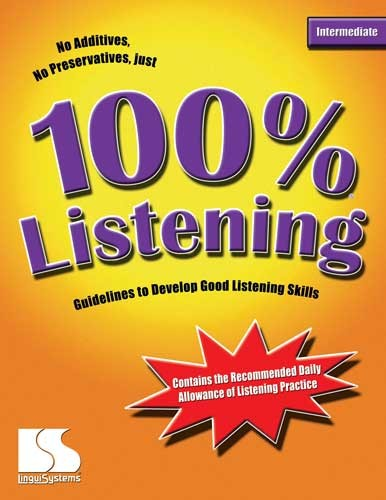 100% / LISTENING / INTERMEDIATE (BOOK)