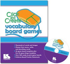 CLICK AND CREATE VOCABULARY BOARD GAMES