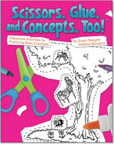 SCISSORS, GLUE, AND CONCEPTS, TOO!