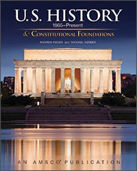 U.S. HISTORY & CONSTITUTIONAL FOUNDATIONS