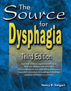 SOURCE FOR / DYSPHAGIA