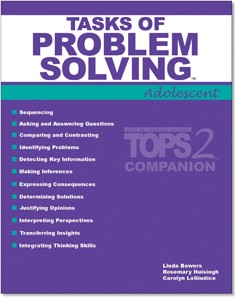 TASKS OF PROBLEM SOLVING - ADOLESCENT (TOPS-2:A COMPANION)