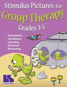 STIMULUS PICTURES FOR GROUP THERAPY (GRADES 3-5)