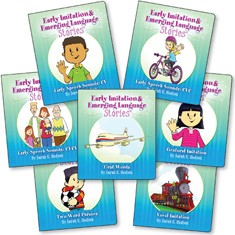 EARLY IMITATION & EMERGING LANGUAGE STORIES (SET OF 7 BOOKS)