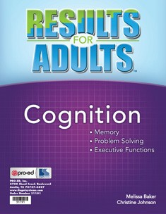 RESULTS FOR ADULTS / COGNITION
