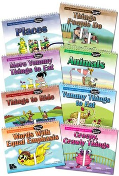 EARLY APRAXIA OF SPEECH STORIES (SET OF 8 BOOKS)