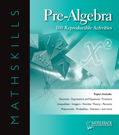 MATHSKILLS / EBOOK ON CD / PRE-ALGEBRA